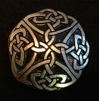 Celtic Knot 1.5inch Pewter Broach