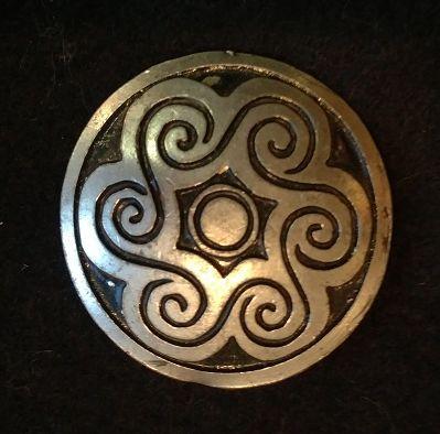 Swirl Pattern 2inch Disk