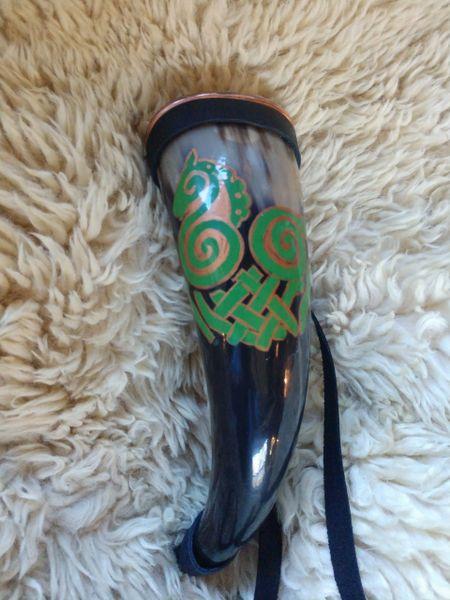 Odin's horse drinking horn