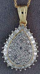 3/4ctw Diamond Pendant on a Chain