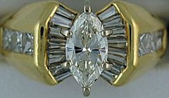 Ladies 1-3/4ctw Diamond Ring