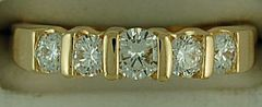 Ladies 9/10ctw Diamond Band