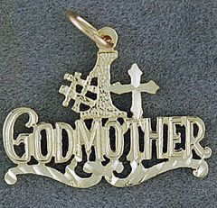 #1 Godmother Pendant / Charm