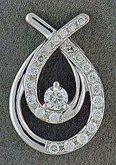 1/3ctw Diamond Pendant