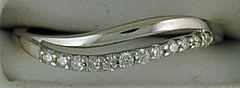Ladies 1/10ctw Diamond Band
