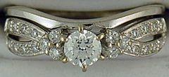 Ladies 1/2ctw Diamond Wedding and Engagement Set