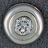 Ladies Round Cut Diamond Pendant