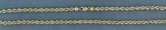 """16"""" Long and 3.4mm Wide Rope Chain"""