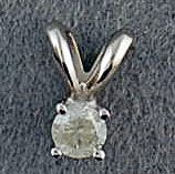 1/10ct Diamond Pendant
