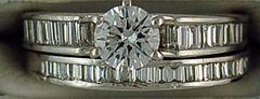 1-1/4ctw Diamond Wedding and Engagement Set