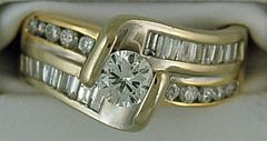 1ctw Ladies Diamond Ring