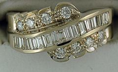 Ladies 1ctw Diamond Band