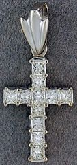 1ctw Diamond Cross Pendant