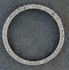 1/4ctw Diamond Circle Pendant