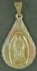 Tri-Color Religious Medallion