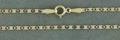 """22"""" Two-Tone Flat Link Chain"""
