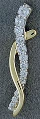 Ladies 1/4ctw Diamond Pendant