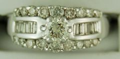 Ladies 1ctw Diamond Ring