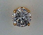 3/8ct Diamond Stud Earring