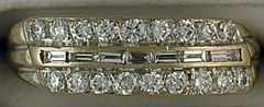 Estate Diamond Band