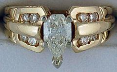 Ladies 3/4ctw Diamond Ring