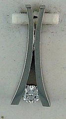 1/10ct Diamond Slide Pendant