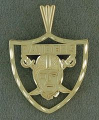 Raiders Pendant