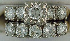Ladies 2ctw Diamond Wedding and Engagement Set