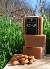 All Natural Cherry Almond Bar Soap