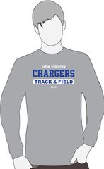 Track and Field Long Sleeve Shirt
