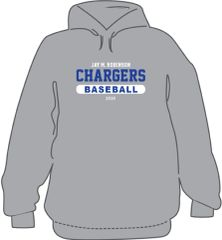 3 piece Baseball Package- Hoodie, T-Shirt, and long sleeve T