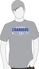 Track and Field short sleeve T shirt