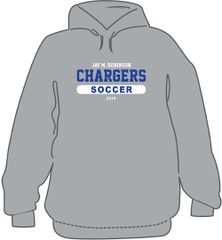 3 piece Soccer Package- Hoodie, T-Shirt, and long sleeve T