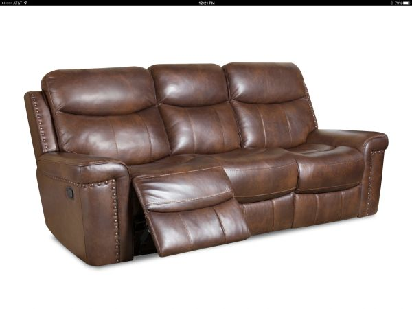 Corinthian Leather Reclining Sofa Furniture Clothing Boutique