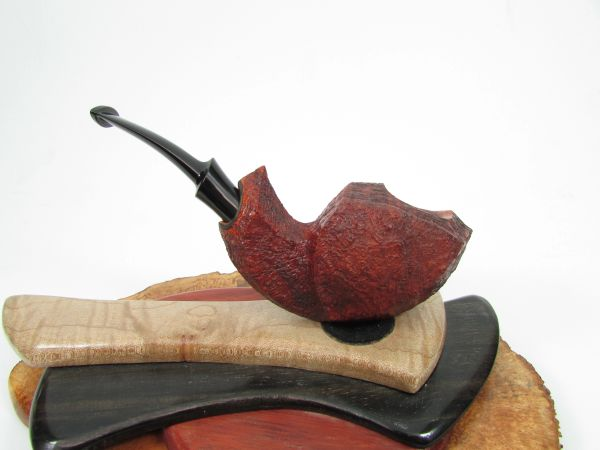 JnJ Pipes Sandblasted Blowfish Estate