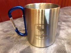 Stainless Steel Moose Mug (assorted handle color)