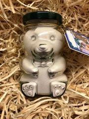Wild Huckleberry White Choc Cocoa Glass Bear