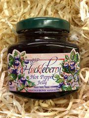 Wild Huckleberry Hot Pepper Jelly