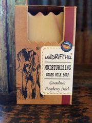 Windrift Hill Grandma's Raspberry Patch Goats Milk Soap
