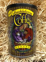 Wild Huckleberry Coffee 12oz Ground