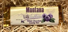 Wild Huckleberry White Chocolate Candy Bar
