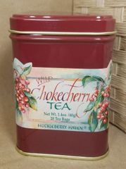 Chokecherry Tea Tin 20 bags