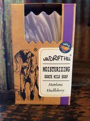 Windrift Hill Montana Huckleberry Goats Milk Soap