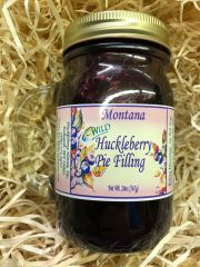Huckleberry Pie Filling 20oz Jar with Handle
