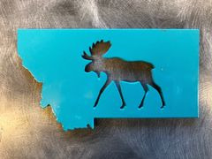 Iron Bark Moose Magnet