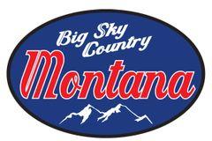 Big Sky Country Sticker