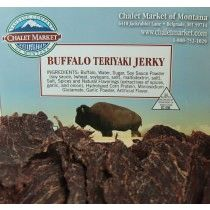 Buffalo Teriyaki Jerky 3.25oz