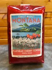 Chalet Market Montana Flathead Cherry Coffee WHOLE BEAN