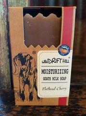 Windrift Hill Flathead Cherry Goats Milk Soap
