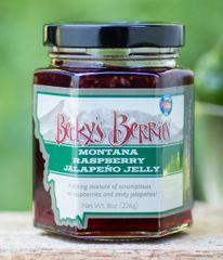Raspberry Jalapeno Jelly 8oz